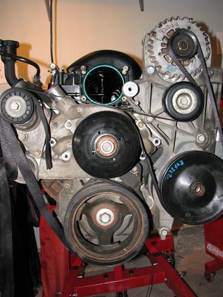70 nova ly6 th400 6 0vvt ls1tech the second option is my preference since it more closely resembles the original belt routing it provides more wrap around the pulleys and the tensioner is